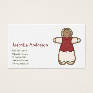 Christmas Cookies · Gingerbread Business Card