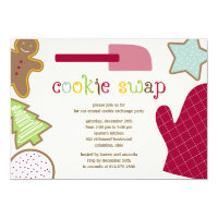 Christmas Cookies Holiday Party Invitations