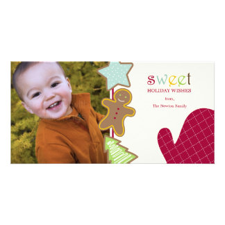 Christmas Cookies Holiday Photo Cards Photo Card