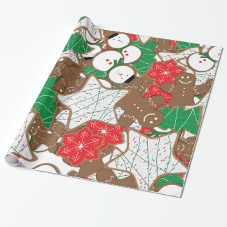 Christmas Cookies Holiday Wrapping Paper