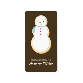 Christmas Cookies Labels
