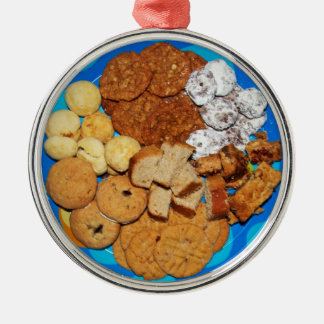 Christmas Cookies Metal Ornament