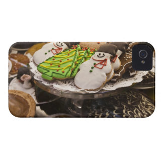 Christmas cookies on display in a New York city iPhone 4 Cover