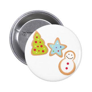 Christmas Cookies Pinback Button