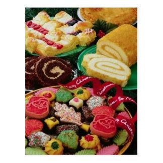Christmas Cookies Postcard