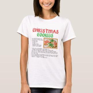 Christmas Cookies Recipe T-Shirt