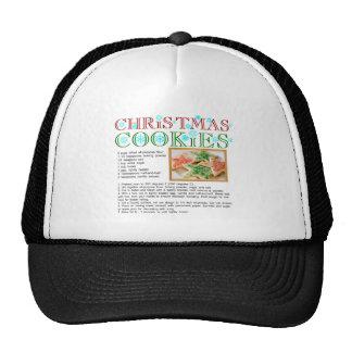Christmas Cookies Recipe Trucker Hat