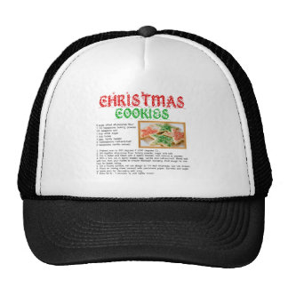 Christmas Cookies Recipe Trucker Hat