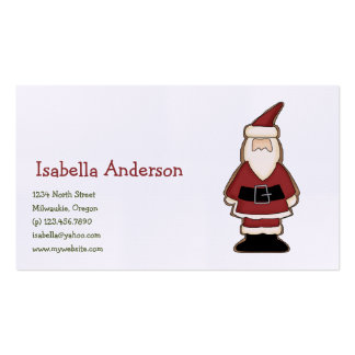 Christmas Cookies · Santa Business Card
