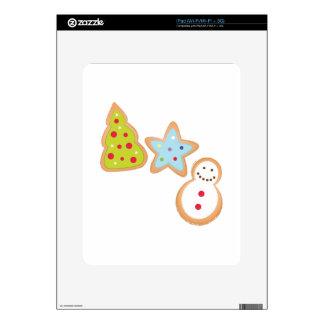 Christmas Cookies Skins For iPad