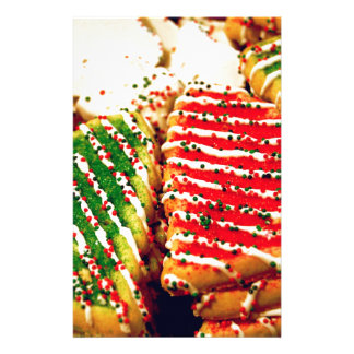 Christmas Cookies Stationery