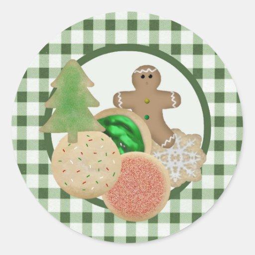 Christmas Cookies Sticker
