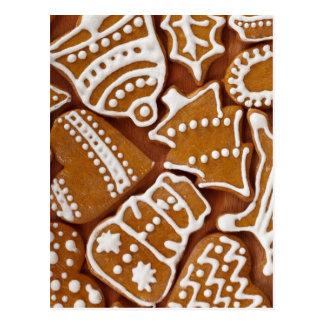 Christmas Cookies Sweet Snowman Peace Love Destiny Postcard