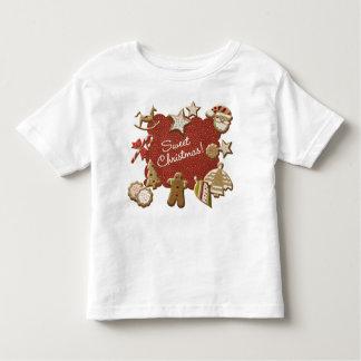Christmas cookies toddler t-shirt