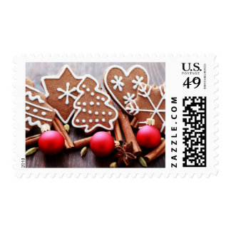 Christmas cookies with spices - Christmas time Postage