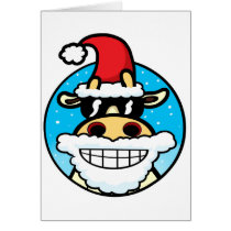 Christmas Cool Cow Card