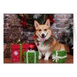 Christmas - Corgi - Cal Cards