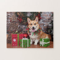 Christmas - Corgi - Cal Puzzle