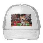 Christmas - Corgi - Cal Trucker Hat