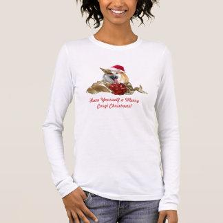 Christmas Corgi Ladies Shirt