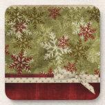 Christmas Cork Coaster