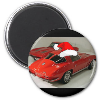 Christmas Corvettes/All I want for Christmas Magnet