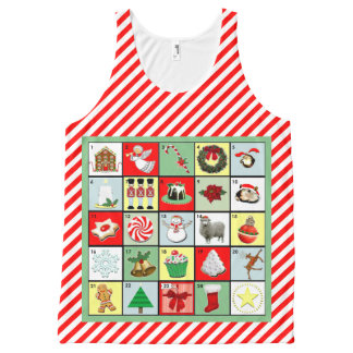 Christmas Countdown Apparel All-Over-Print Tank Top