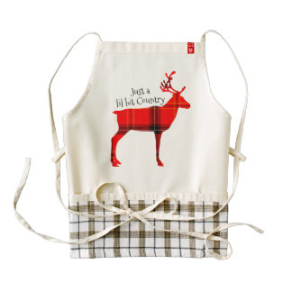 CHRISTMAS COUNTRY APRONS