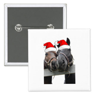Christmas Country Horses Pins