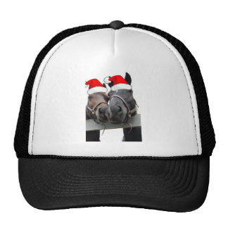 Christmas Country Horses Hats