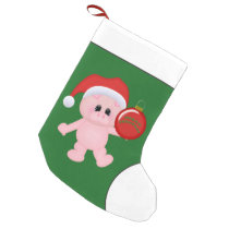 Christmas Country pig Holiday stocking