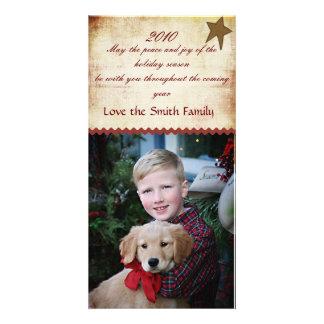 Christmas County  Photocard Card