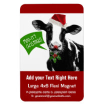 Christmas Cow - Moory Xmas! Magnet
