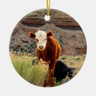 Cow Ornaments & Keepsake Ornaments | Zazzle