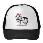 Christmas Cow Trucker Hat
