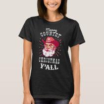 Christmas Cowboy T-shirt