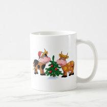 Christmas Cows Coffee Mug