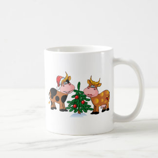 Christmas Cows Coffee Mug