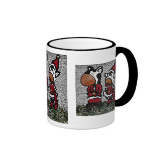 Christmas Cows Mug