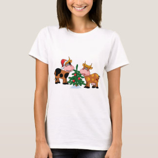 Christmas Cows T-Shirt