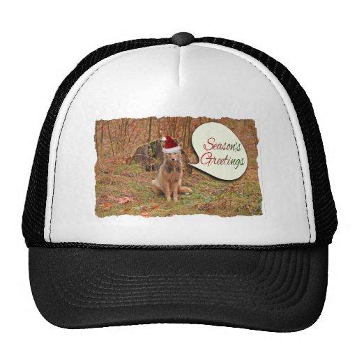 Christmas Coyote Hat