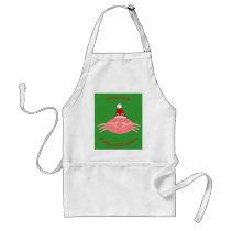 Christmas Crab Custom Cooking Apron