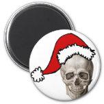 Christmas Cranium Refrigerator Magnets
