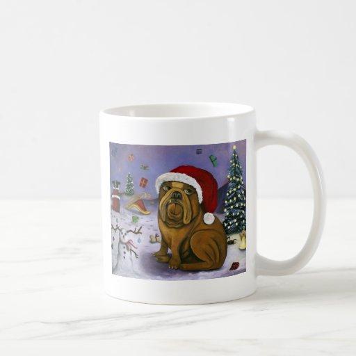 Christmas Crash Classic White Coffee Mug
