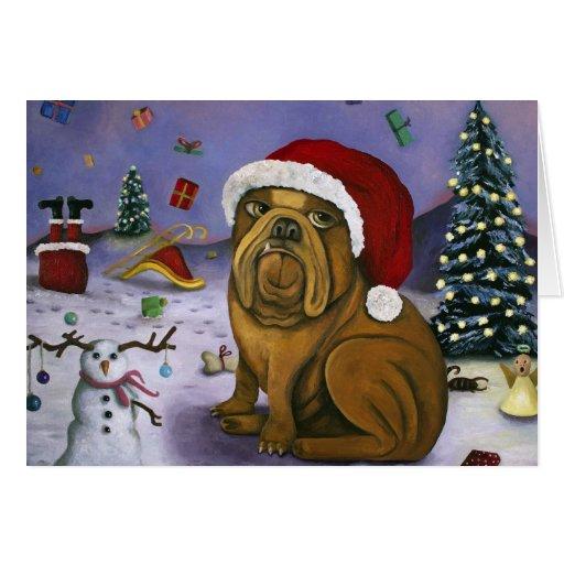 Christmas Crash Greeting Card