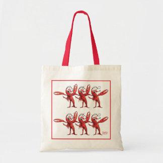 Christmas Crawfish Chorus Line Bag