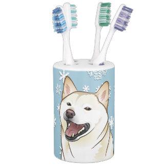 Shiba Inu Dog Bath Accessory Sets Zazzle