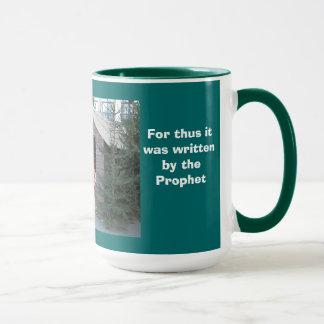 Christmas creche mug