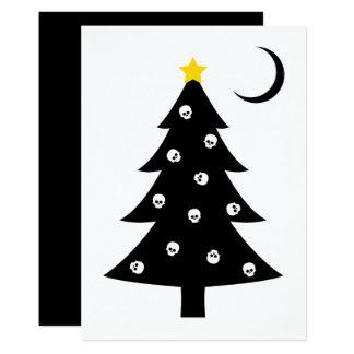 Christmas Creepy Tree Card