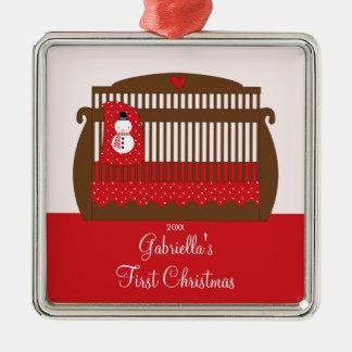Christmas Crib Baby s First Christmas Ornament